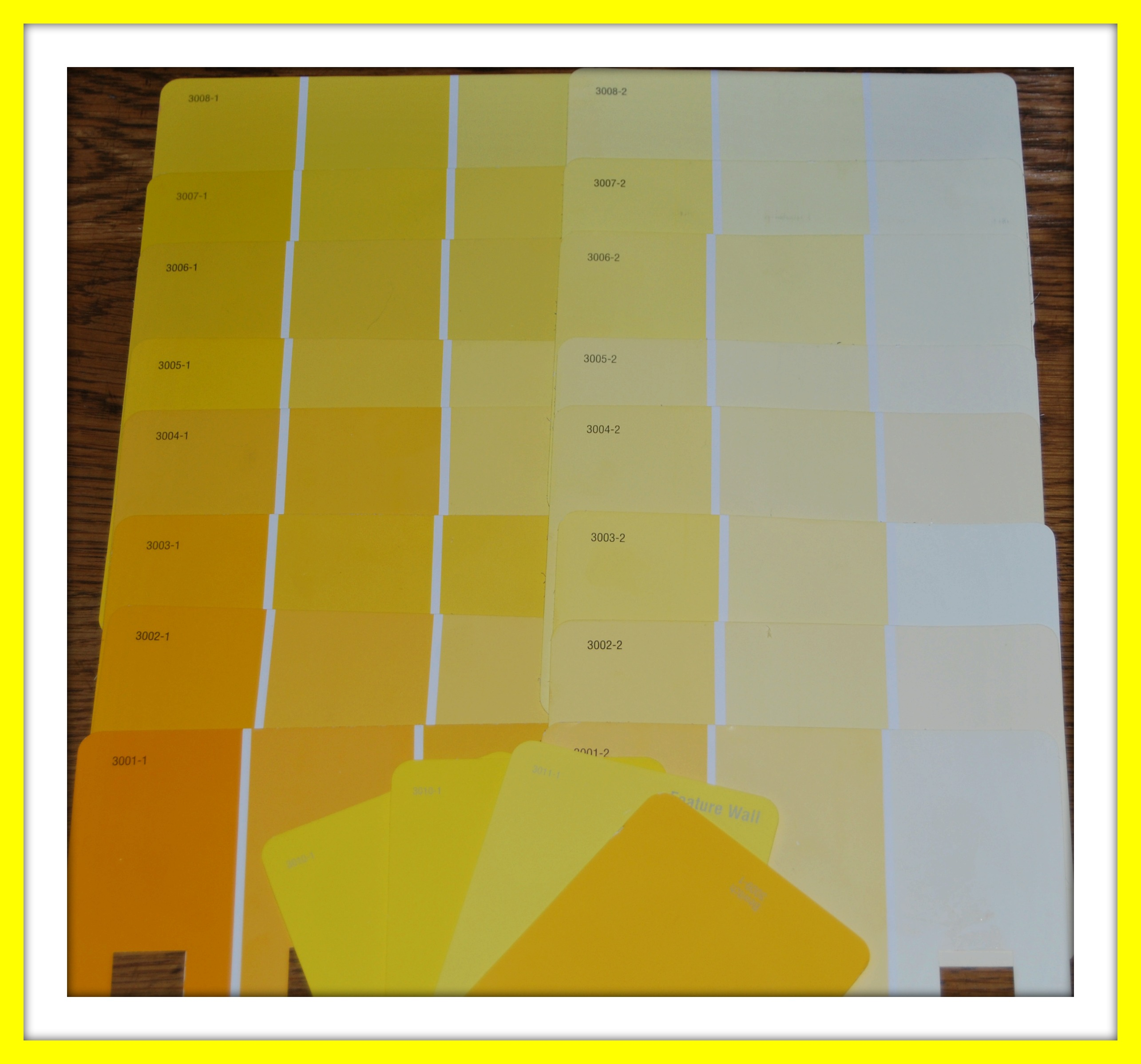 Shades of yellow paint shades of yellow color names for Different yellow paint colors