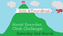 Team Honk Fund Raising for Comic Relief — Snowdon Climb