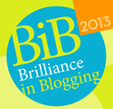 Brilliance in Blogging awards