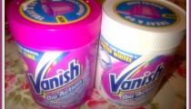 Making stains Vanish