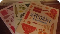 The Hungry Student Cookery books by Charlotte Pike