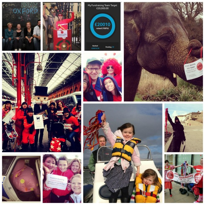 #TeamHonkRelay, Sport Relief, Twitter and Me (and You).
