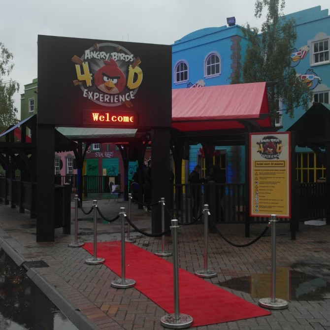 Thorpe Park — Angry Birds and  Summer Nights