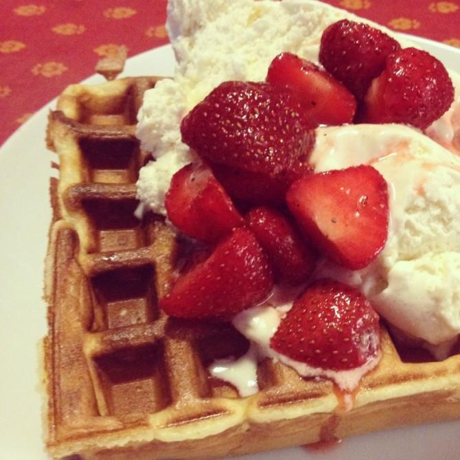 Food and Drink Week — Part V — Sage's waffle maker