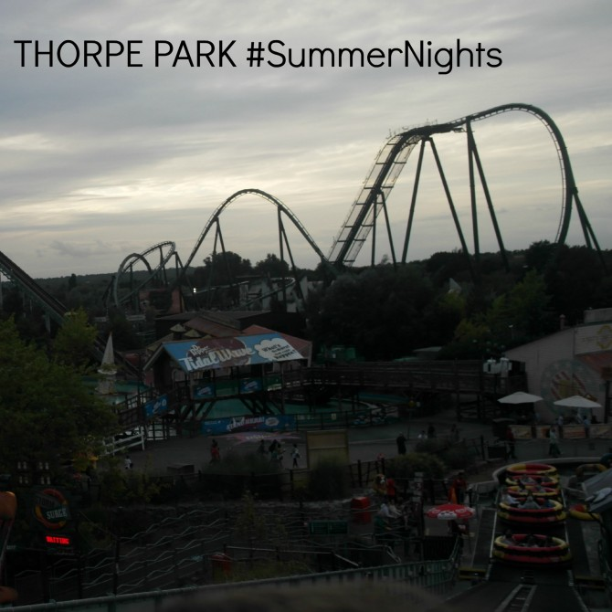 THORPE PARK Summer Nights and how to win five annual passes