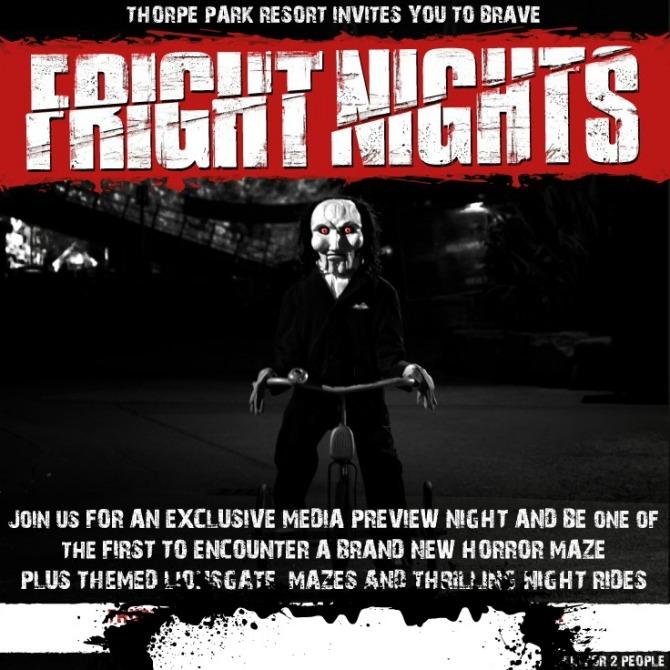 Fright Night at Thorpe Park