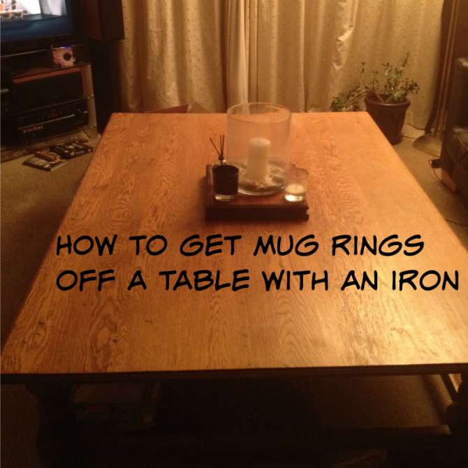 Getting mug rings off a table