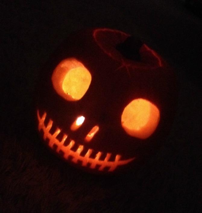 Mummy Barrow loves Halloween