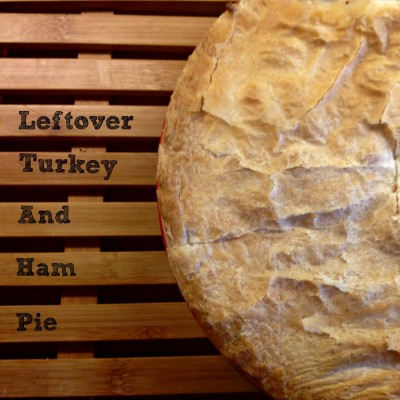 Turkey and ham pie pic
