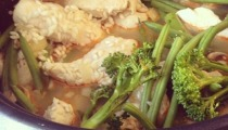 Lemon and Thyme Chicken risotto