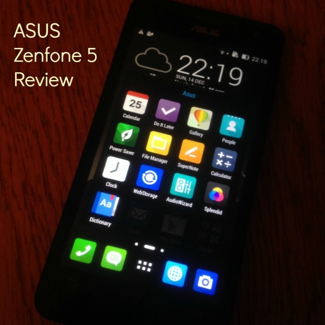 Asus Zenfone5 Mobile Phone — Review