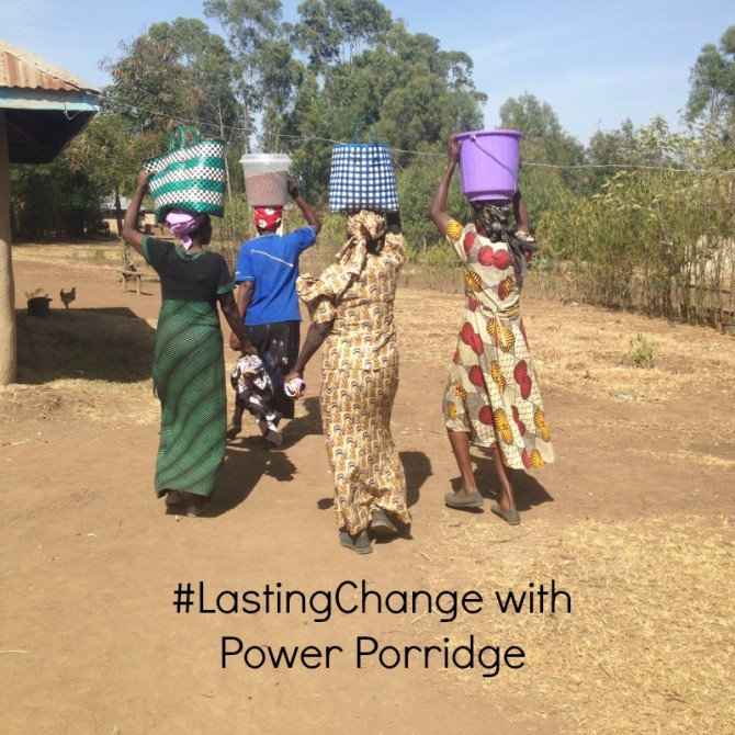 #LastingChange created with Power Porridge
