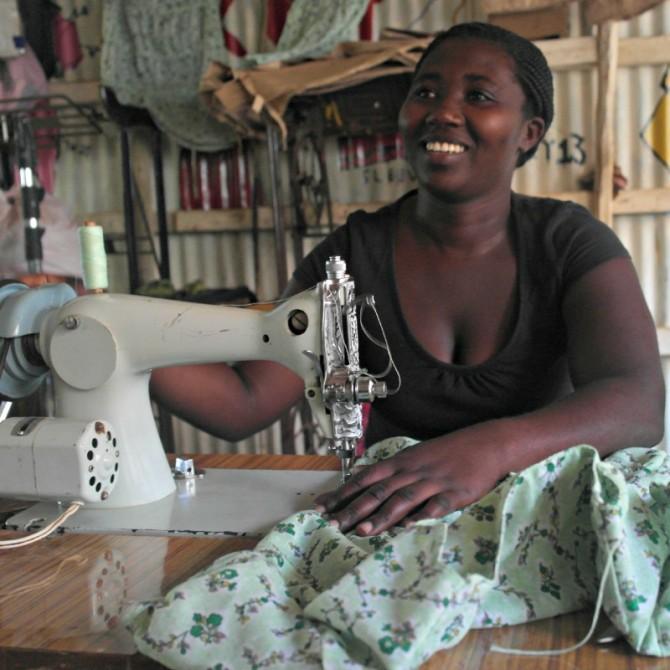 Sewing machines in Kenya