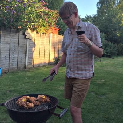 Barbecuing with the Tesco Flame Academy
