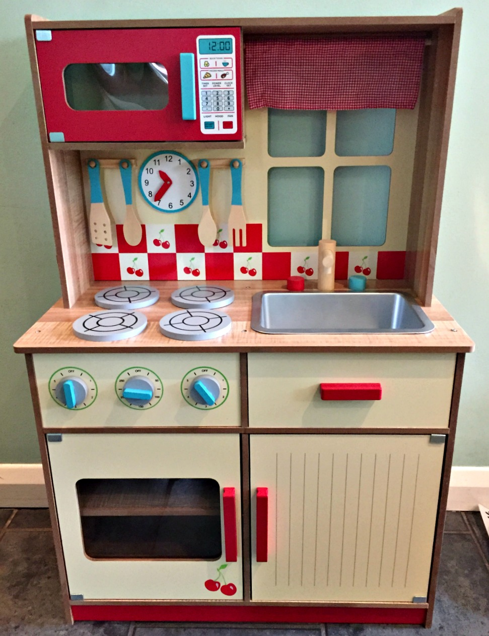 Asda Wooden Play Kitchen Review